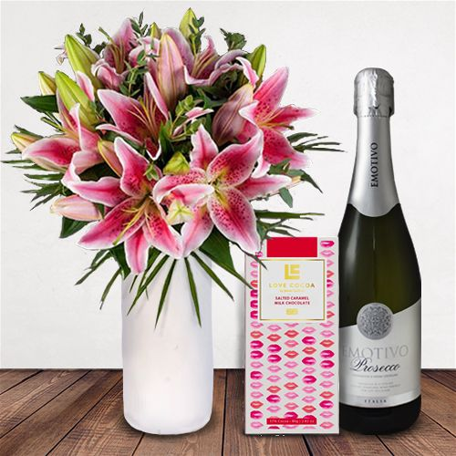 Bloom Magic - Pink Lily Delight Gift Set